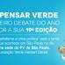 Revista Pensar Verde realiza primeiro debate do ano para compor a sua 19ª edição