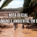 NOTA OFICIAL  – Desastre humano e ambiental Brumadinho