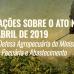 Considerações sobre o ATO nº 24, de abril de 2019